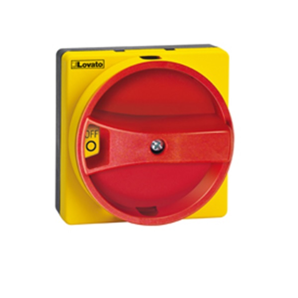 Lovato Padlockable Rotary Handles Screw Fixing Recessed