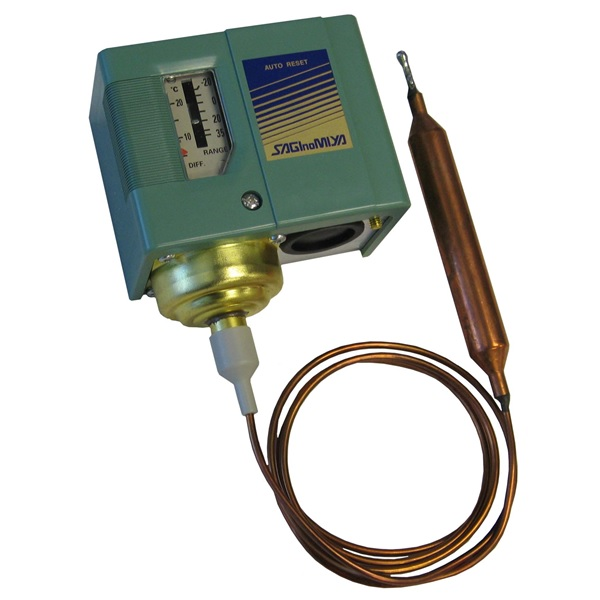 Saginomiya General Purpose Capillary Thermostat