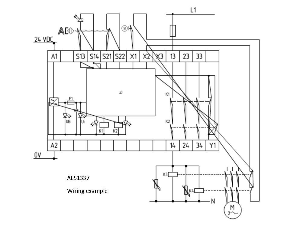 schmersal safety monitoring module